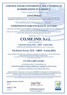 iso 1090 comeind