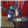 Saldatura MIG/MAG su bracci per pompe autocarrate (saldatura a filo)