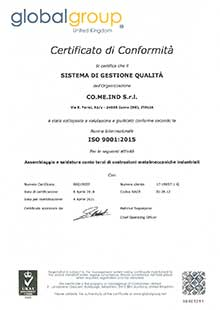iso 9001 comeind